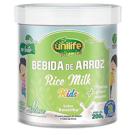 Bebida de arroz 200g - Unilife Vitamins