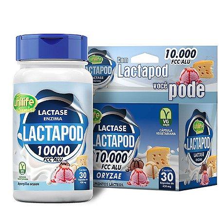 Lactapod 450mg 10.000 FCC  30 caps - Unilife Vitamins