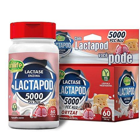 Lactapod 450mg 5.000 FCC  60 caps - Unilife Vitamins