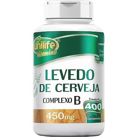 Levedo de Cerveja Complex B 400 comp - Unilife Vitamins