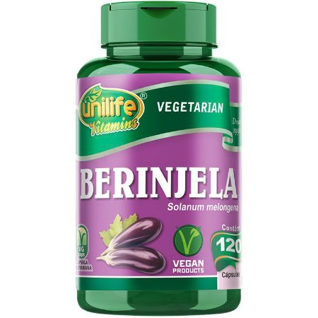 Berinjela 120 caps - Unilife Vitamins
