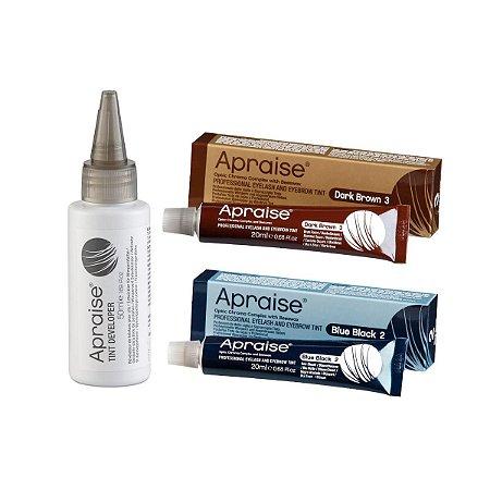 Kit de tinturas Apraise 2 e 3 + Oxidante