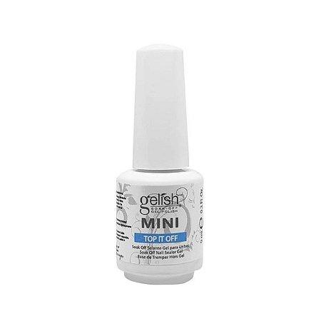Gelish soak off mini top it off selante gel para unhas 9ml