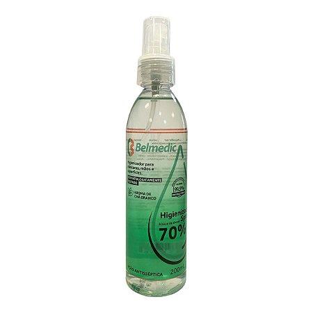 Spray Higienizador Base Álcool 70% 200ml