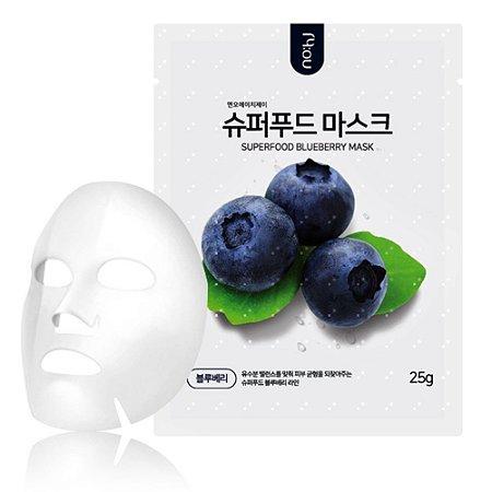Máscara Facial Coreana Nohj Super Food Mask Blueberry 25g