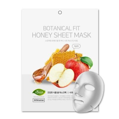 Máscara Facial Coreana Nohj Botanical Fit Maçã e Mel