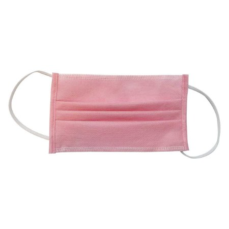 Mascara descartável Rosa Belmedic pacote c/100 un
