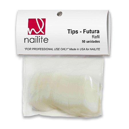 Tips para unhas Nailite n° 10 50 un.
