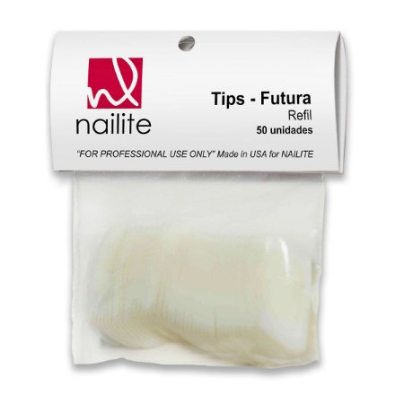 Tips para unhas Nailite n° 09 50 un.