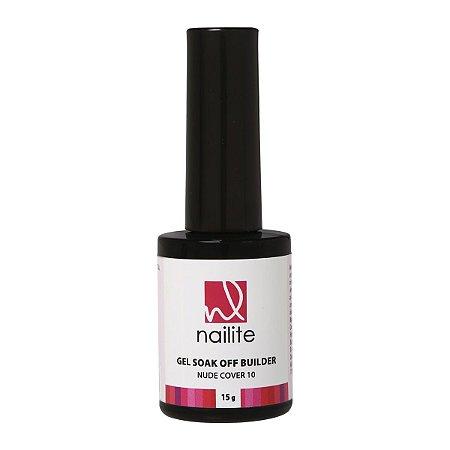Gel Soak Off Builder Nude Cover 10 Nailite 15g