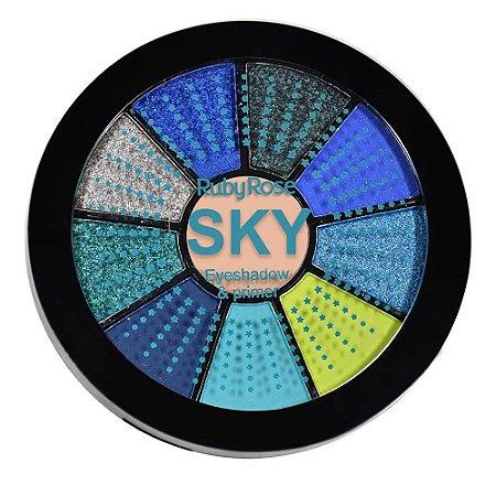 Mini Paleta De Sombras Sky - HB99865 - Ruby Rose