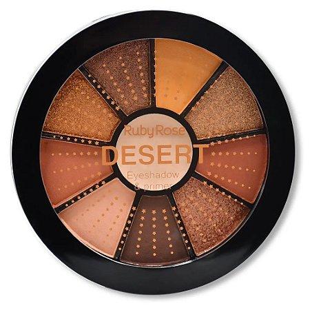 Mini Paleta De Sombras Desert - HB99867 - Ruby Rose