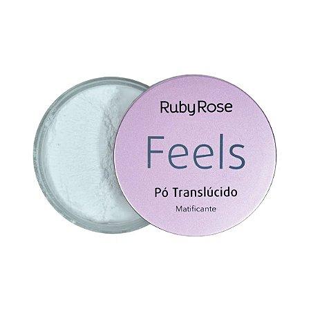 Pó Translucido Matificante Feels Ruby Rose
