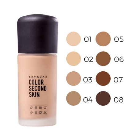Base Color Second Skin Beyoung 50W 30GR