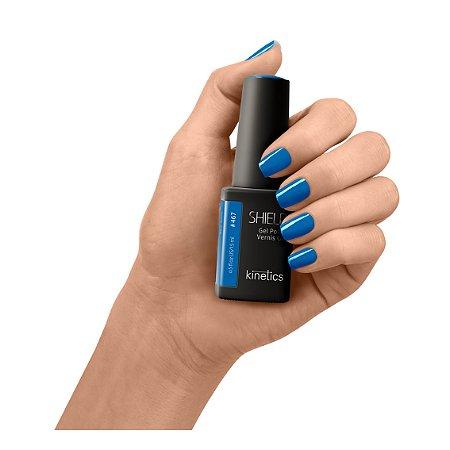 Esmalte em gel kinetics shield #467 Blue Jeans 15ml