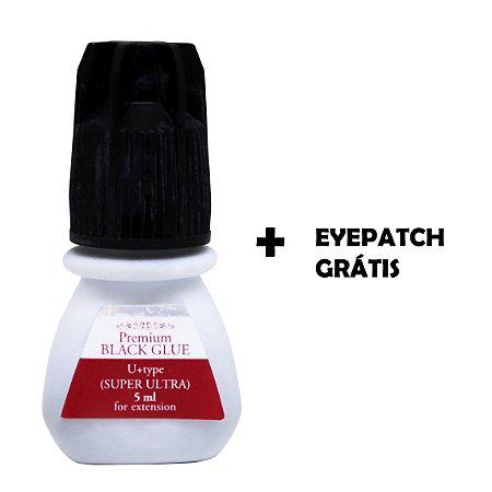 Cola Super Ultra Premium Black 5ml + Eye Patch Grátis