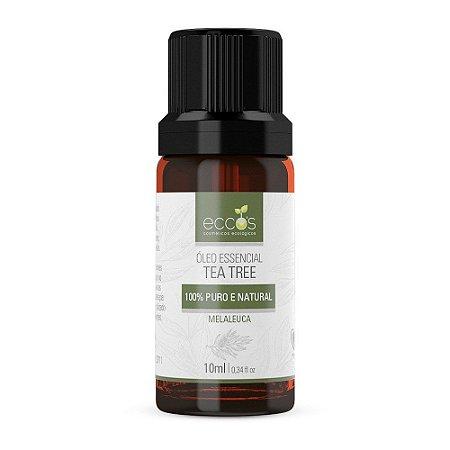 Óleo essencial tea tree 10ml Eccos