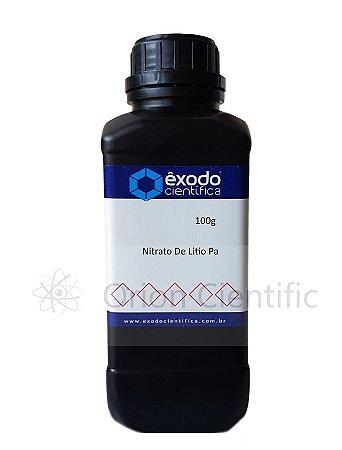 Nitrato De Litio Pa 100G Exodo Cientifica