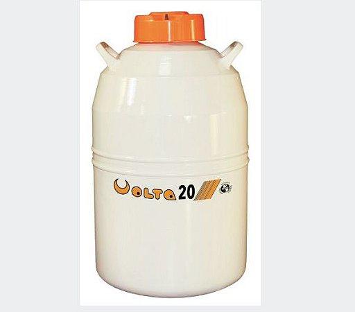 Botijão De Nitrogênio 20 Litros - Volta