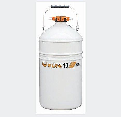 Botijão De Nitrogênio 10 Litros - Volta