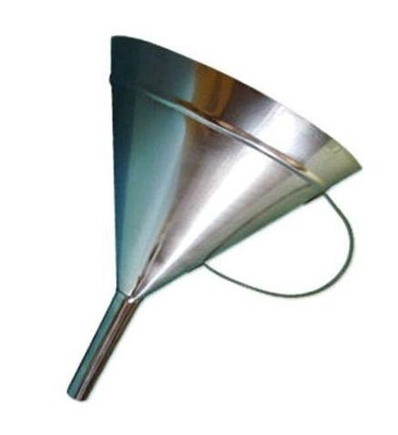 Funil Em Aço Inox Com Alça 500Ml Ricilab