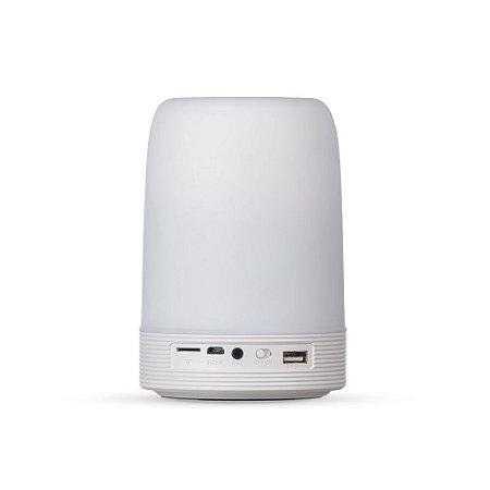 Caixa de Som Multimídia com Porta Caneta e Luminária - IAD02017