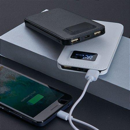 Power Bank Plástico com Indicador Digital - IAD02032