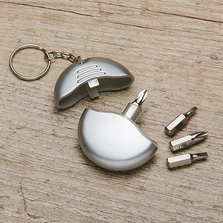 Chaveiro Plástico kit Ferramenta 4 peças - IAD00808