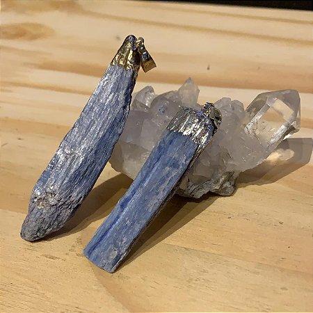 Pingente Cianita Azul