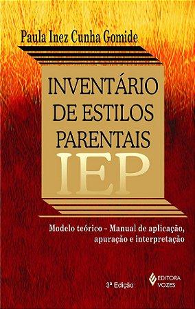 Iep - Inventario de Estilos Parentais