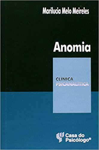 Anomia - Col. Clinica Psicanalitica