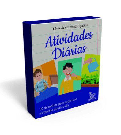 Atividades Diarias - 50 Desenhos Para Organizar As Tarefas do Dia a Dia