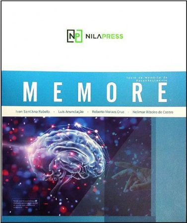 MEMORE - CADERNO DE APLICAÇÃO E MEMORIZAÇÃO - TESTE DA MEMORIA DE RECONHECIMENTO