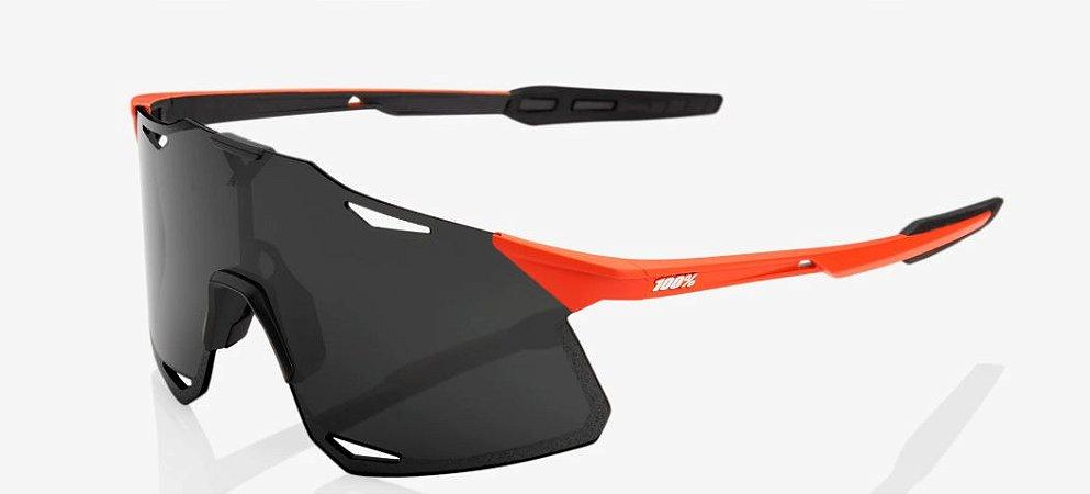 Óculos Ciclismo 100% Hypercraft - Original Preto/Laranja