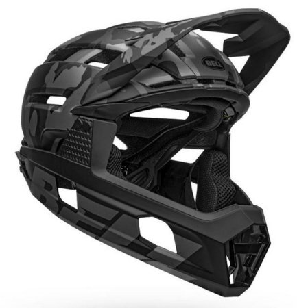 Capacete Bell Super Air R Full Face All Mountain Mips