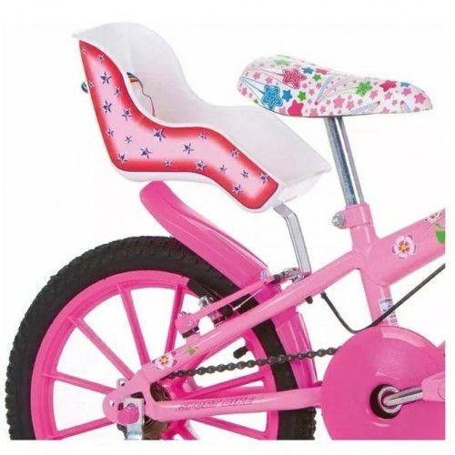 Cadeira De Boneca Baby Para Bicicleta Infantil Feminina