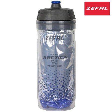 Garrafa Térmica Zefal Arctica 550ml Bottle Propileno Azul
