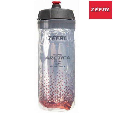 Garrafa Térmica Zefal Arctica 550ml Bottle Propilen Vermelho