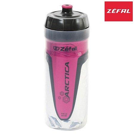 Garrafa Térmica Zefal Arctica 550ml Bottle Propileno Rosa