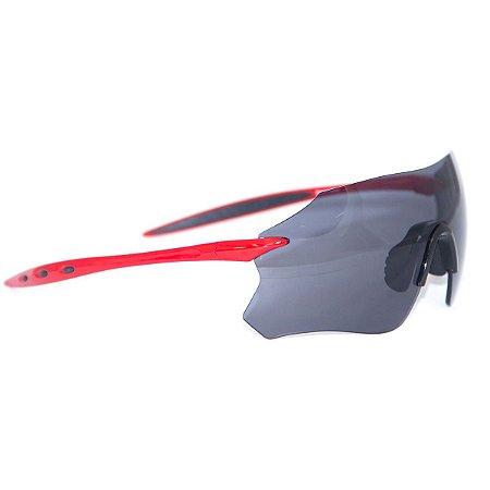 Oculos Ciclismo Bike Absolute Prime Sl Vermelho Lente Uv 400