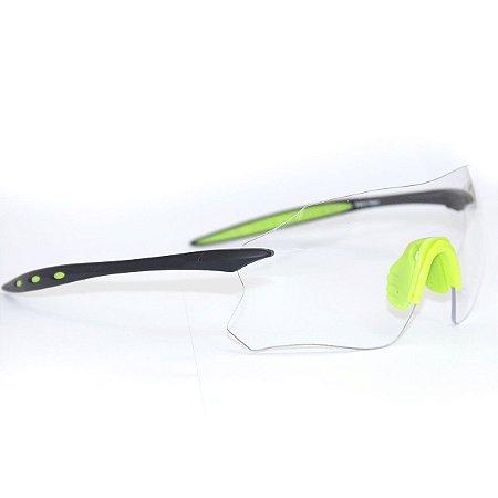 Oculos Ciclismo Bike Absolute Prime Sl Transparente Uv 400