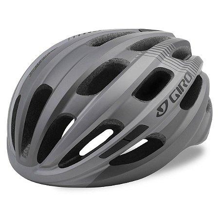 Capacete Ciclismo Giro Isode Titanio Cinza Tam U 54-61cm