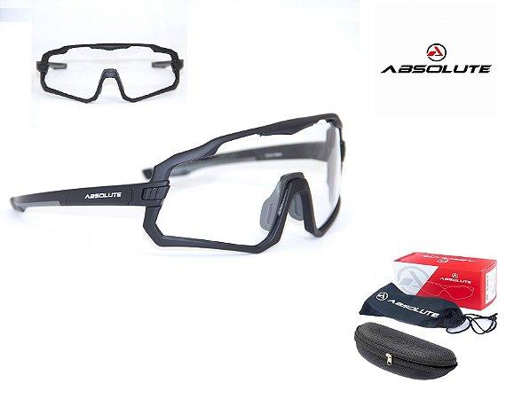 Óculos Ciclismo Bike Absolute Wild Lente Uv400 Transparente