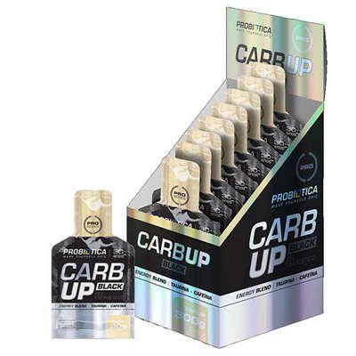 CarbUp Gel Black Repositor Carbo Bike Probiotica 10 Saches 30g