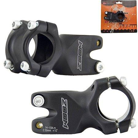 Mesa Avanço Suporte de Guidão Bike 50mm-31,8mm 10° D365 Zoom