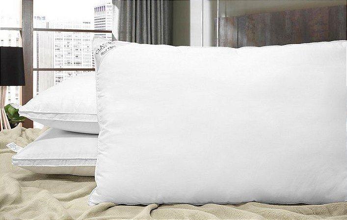 Kit Travesseiros Plus Toque de Pluma ( 800 g ) - 2 Peças