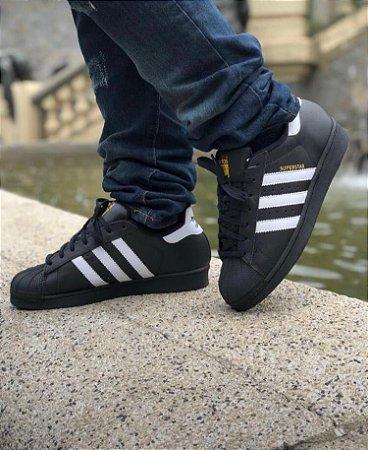 Médula Visión general Haz un experimento  Adidas Superstar - Preto e Branco - RL STORE - SITE OFICIAL.