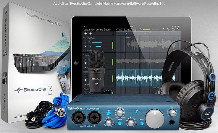 Interface Presonus Audiobox iTwo Studio kit