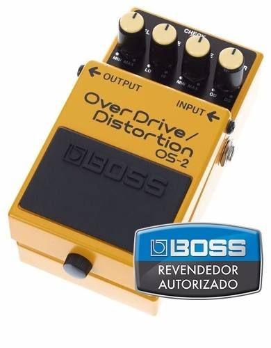 Pedal de Efeito Boss Overdrive/ Distortion OS2 para Guitarra