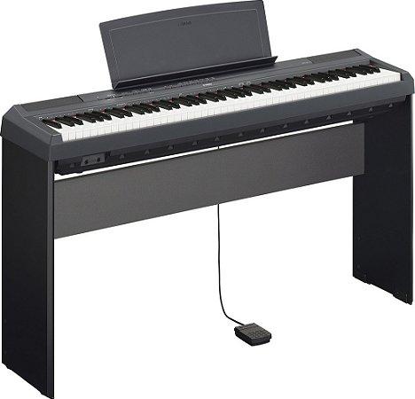 Piano Digital Yamaha P115 com Estante L85